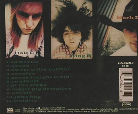 Melvins: Stoner Witch, Atlantic(), D, 1994 - CD - 82334 - 7,50 Euro