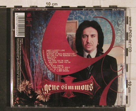 Simmons,Gene: Asshole, Simmons(), EU, 2004 - CD - 82335 - 7,50 Euro