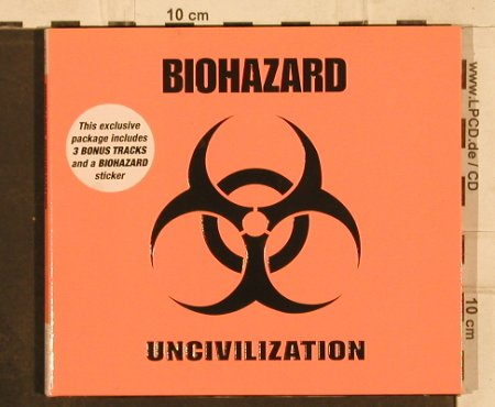 Biohazard: Uncivilization, Digi, Steamhammer(), D, 2002 - CD - 82339 - 10,00 Euro