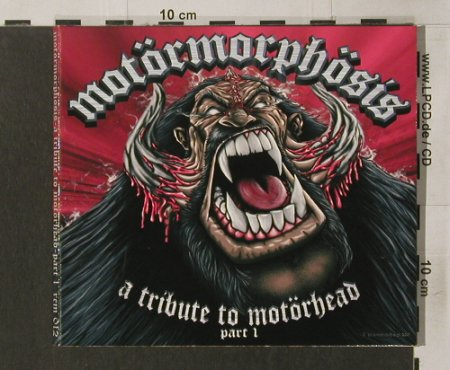 Motörmorphösis - V.A.: A Tribute To Motörhead-Part 1,Digi, Remedy(rem012), , 2001 - CD - 82344 - 10,00 Euro