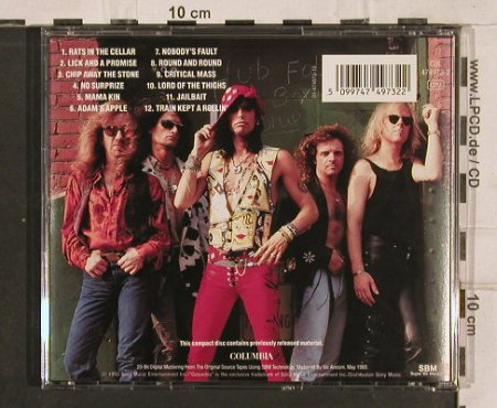 Aerosmith: Gems,(remasterSBM), Lim.Ed., Columbia(), A, 1993 - CD - 82832 - 5,00 Euro