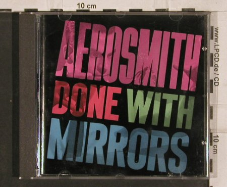 Aerosmith: Done With Mirrors, Geffen(GED 24091), D, 1985 - CD - 82833 - 7,50 Euro