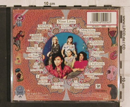 Aerosmith: Nine Lives, 14 Tr., Columbia(), A, 1997 - CD - 82835 - 6,00 Euro