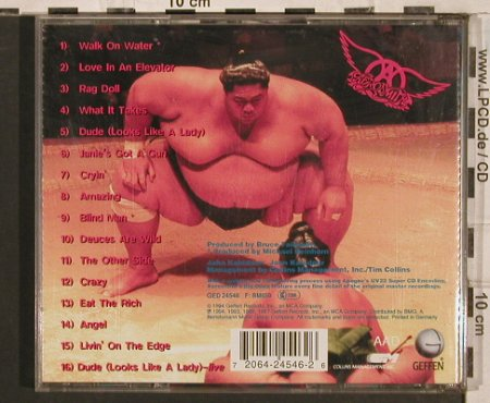 Aerosmith: Big Ones, Geffen(), UK, 1994 - CD - 83516 - 6,00 Euro