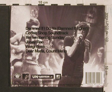 All Time Low: MTV Unplugged, Digi, FS-New, Hopeless(HR711-2), , 2010 - CD/DVD - 83523 - 11,50 Euro
