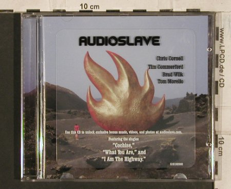 Audioslave: Same, Epic(510 130 2), EU, 2002 - CD - 83527 - 7,50 Euro