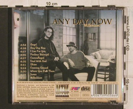Any Day Now: Millenium, MTM(), D, 1999 - CD - 83528 - 5,00 Euro