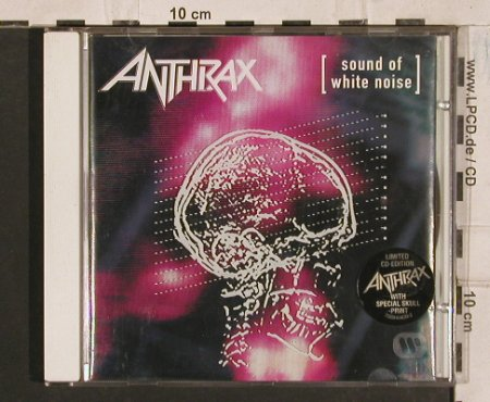 Anthrax: Sound Of White Noise, Elektra(), D, 1993 - CD - 83529 - 7,50 Euro