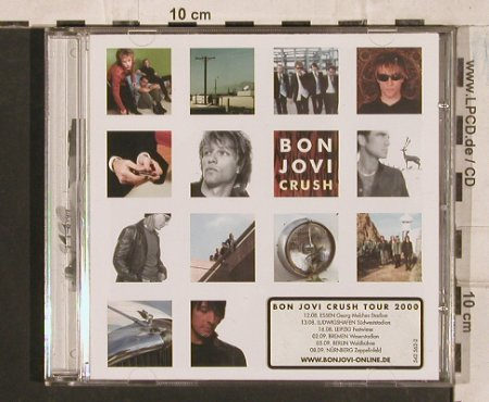 Bon Jovi: Crush, white sticker, Mercury(542 562-2), EU, 2000 - CD - 83536 - 7,50 Euro