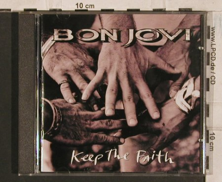 Bon Jovi: Keep The Faith, 13Tr., Mercury(514 197-2), , 1993 - CD - 83544 - 5,00 Euro