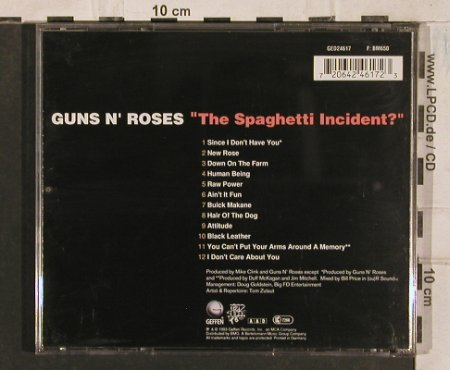 Guns N'Roses: The Spaghetti Incident?, Geffen(), D, 1993 - CD - 83565 - 7,50 Euro