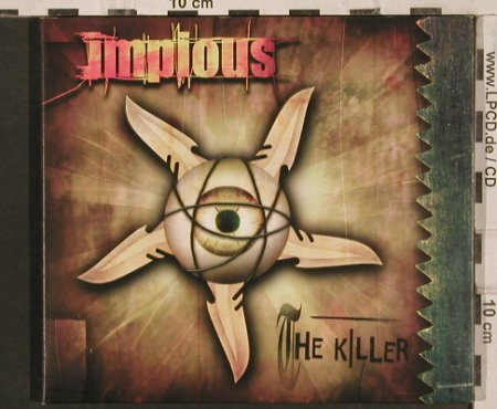Impious: The Killer, 15Tr. Promo,Digi, Hammerheart  Records(HHR 121), Booklet,co, 2003 - CD - 83579 - 5,00 Euro
