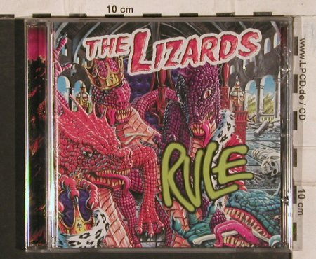 Lizards,The: Rule, FS-New, Hyperspace(), EU, 2004 - CD - 83589 - 10,00 Euro
