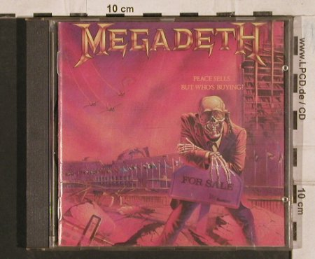 Megadeth: Peace Sells...But Who's Buying?, Capitol(), NL, 1986 - CD - 83593 - 10,00 Euro