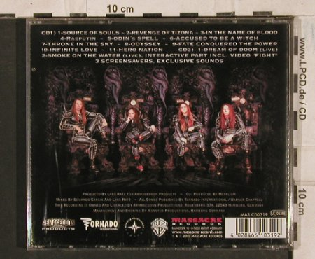 Metalium: Hero Nation-Chapter Three, Massacre(), D, 2002 - 2CD - 83600 - 10,00 Euro