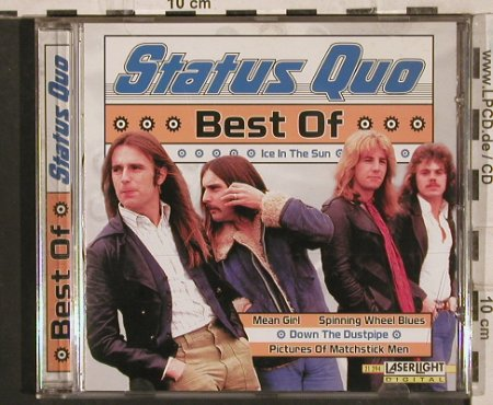 Status Quo: Best Of, 18 Tr., LaserLight(21294), EU, 1998 - CD - 83624 - 7,50 Euro