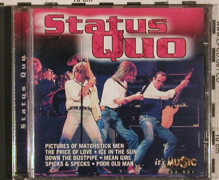Status Quo: Same, 16 Tr., It's Music(22 821), D, 1998 - CD - 83625 - 7,50 Euro