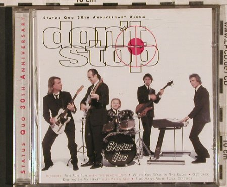 Status Quo: Don't Stop-30th Anniversary Album, PolyGram(531 035-2), EU, 1996 - CD - 83626 - 7,50 Euro