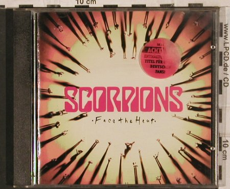 Scorpions: Face The Heat, 13 Tr., Mercury(518 280-2), F, 1993 - CD - 83640 - 5,00 Euro