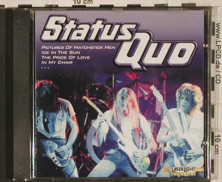 Status Quo: Same, LaserLight(21037), D, 2001 - CD - 83641 - 7,50 Euro