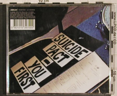 Therapy?: Suicide Pact-You First, ARK 21(1539722), EEC, 1999 - CD - 83654 - 5,00 Euro