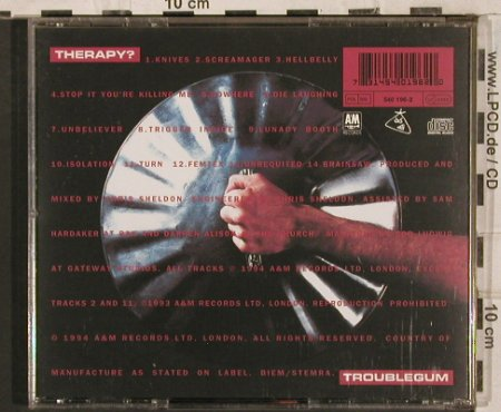 Therapy?: Troublegum, AM(), EU, 1994 - CD - 83656 - 7,50 Euro