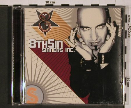 8th Sin: Sinners Inc., Black Lodge(), , 2004 - CD - 84212 - 10,00 Euro