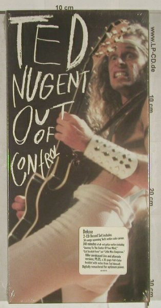 Nugent,Ted: Out of Control, Deluxe,Boxed Set, Epic/Leg.(E2K 47039), US,FS-New, 1993 - 2CD - 90026 - 12,50 Euro