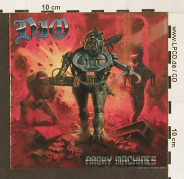 Dio: Angry Machines, 10 Tr. Promo, Digi, Steamhamme(085-18292), D,  - CD - 90102 - 10,00 Euro