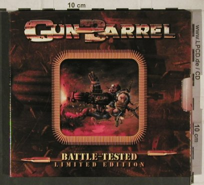 Gun Barrel: Battle-Tested, Lim Ed., Limb(), D, 2002 - CD - 90174 - 10,00 Euro