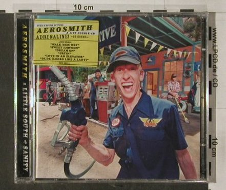 Aerosmith: Little South Of Sanity, FS-New, Geffen(), EEC, 1998 - 2CD - 90348 - 12,50 Euro