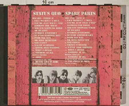 Status Quo: Spare Parts- Deluxe Ed., Castle(CMEDD717), UK, 03 - 2CD - 90548 - 11,50 Euro
