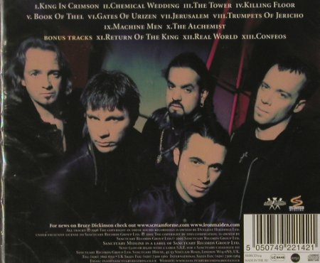 Dickinson,Bruce: The Chemical Wedding '98, FS-New, Sanctuary(), EU, 2005 - CD - 91721 - 10,00 Euro