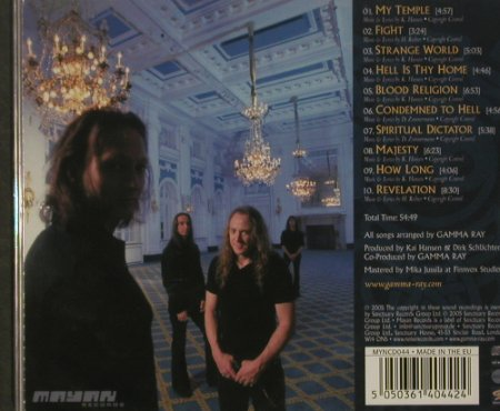 Gamma Ray: Majestic, FS-New, Sanctuary(), , 2005 - CD - 92514 - 11,50 Euro