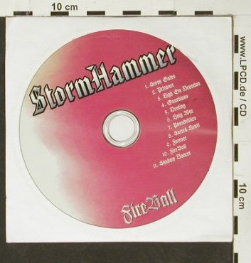 Stormhammer: Fire Fall, Promo no cover, Century Media(), , 2000 - CD - 93025 - 4,00 Euro