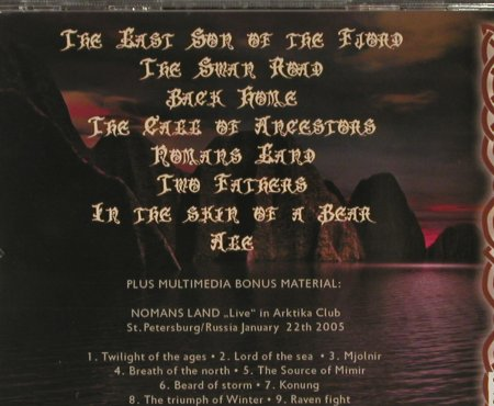 Nomans Land: The Last Son of the Fjord, FS-New, Einheit Prod.(EP IX), , 2006 - CD - 93040 - 11,50 Euro