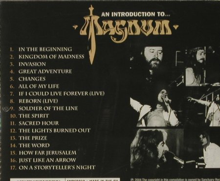Magnum: An Introduction to..., FS-New, Sanctuary(SMRcd020), EU, 2004 - CD - 93158 - 10,00 Euro