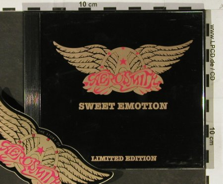 Aerosmith: Sweet Emotion+2, Lim.Ed.,Sticker, Columbia(), US, 1994 - CD5inch - 93176 - 5,00 Euro