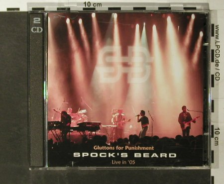 Spock's Beard: Gluttons For Punishment, InsideOut(), D, 2005 - CD - 93357 - 12,50 Euro