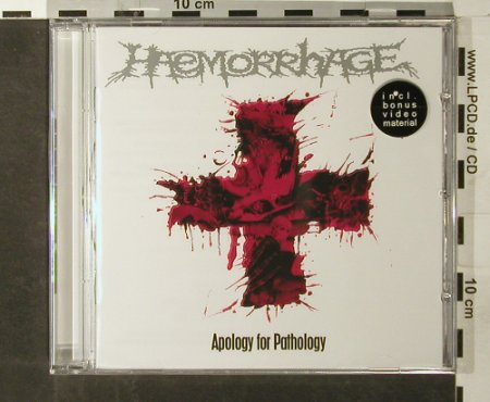 Haemorrhage: Apology for Pathology, FS-New, Morbid Rec.(MR 116), , 2006 - CD - 93383 - 10,00 Euro