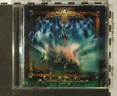 Gamma Ray: Skeletons In The Closet,Promo, Sanctuary(), EU, 2003 - 2CD - 93393 - 10,00 Euro