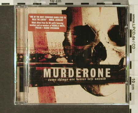 Murder One: Some Things Are Better Left unsaid, Grind That Axe Records(), , FS-New, 2006 - CD - 94072 - 11,50 Euro