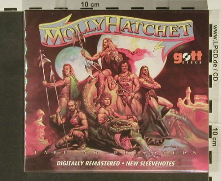 Molly Hatchet: Take No Prisoners '81, FS-New, gottdisc(), , 2005 - CD - 94463 - 10,00 Euro