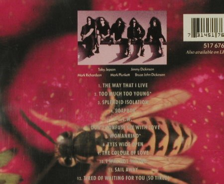 Little Angels: Jam, + Live Ep, Polydor(), UK, 93 - 2CD - 94487 - 10,00 Euro