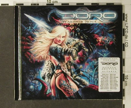 Doro: Warrior Soul, Digi, Lim.Ed., AFM Records(107-9), , 2006 - CD - 94981 - 12,50 Euro