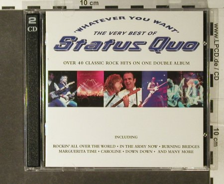 Status Quo: Whatever You Want-Very Best Of, Vertigo(553 507-2), UK, 1997 - 2CD - 94997 - 12,50 Euro