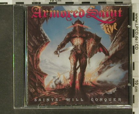 Armored Saint: Saints Will Conquer(88), FS-New, Metal Blade(076-101302), D, 1994 - CD - 95201 - 10,00 Euro