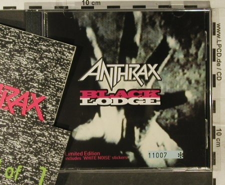 Anthrax: Black Lodge*2+2,Lim.Ed.(no.11007), Elektra(), D,Sticker, 1993 - CD5inch - 95245 - 5,00 Euro