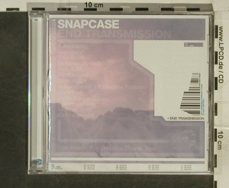Snapcase: End Transmission, FS-New, Victory(), US, 2002 - CD - 95356 - 10,00 Euro