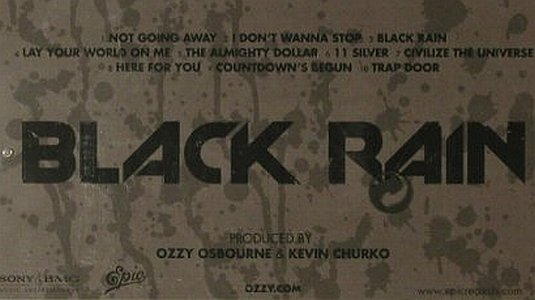 Osbourne,Ozzy: Black Rain, FS-New, Epic(), EU, 2007 - CD - 95390 - 12,50 Euro